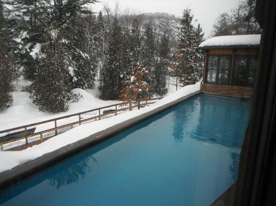 la piscine d'eau froide