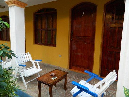 Hotel Cocibolca:                   my room