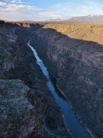 Rio Grande Gorge: Looking down into the gorge from the bridge