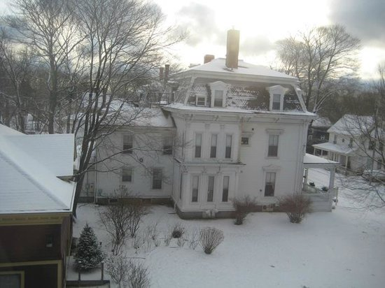 Berry Manor Inn:                                     View from our window