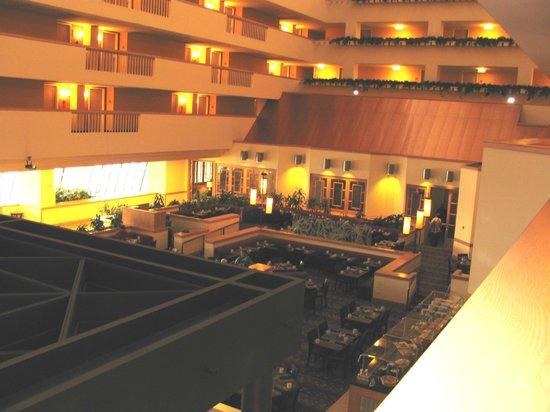 Renaissance Denver Stapleton Hotel:                   View from 3rd floor