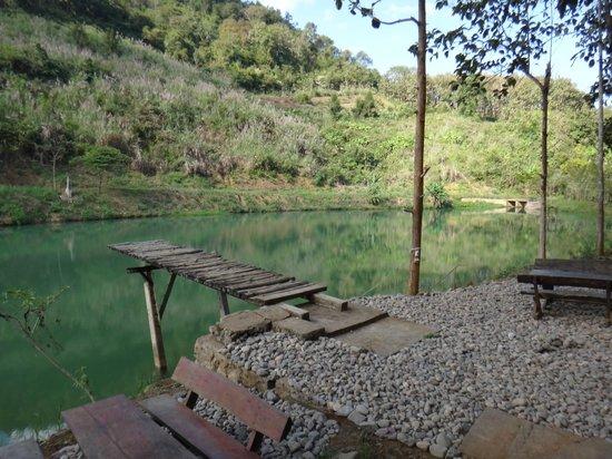 Camping Tad Thong:                   Lake