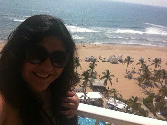 Hotel Riu Emerald Bay: Vista al mar