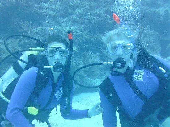 Sea Dwellers Dive Center of Key Largo:                   My sister and I