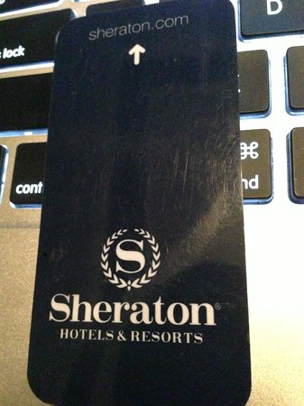 Sheraton Waikiki: room key