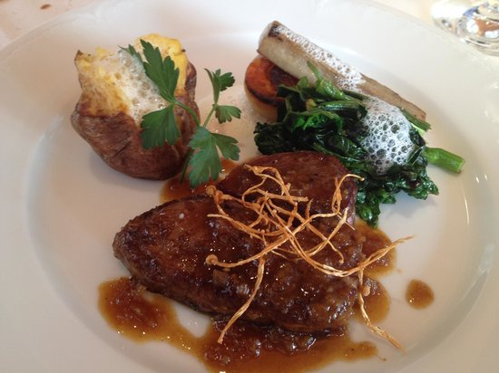 Restaurant Maccarina: Grilled Hokkaido A3 beef