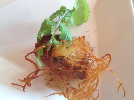 Restaurant Maccarina: Pulled pork sausage...amazing