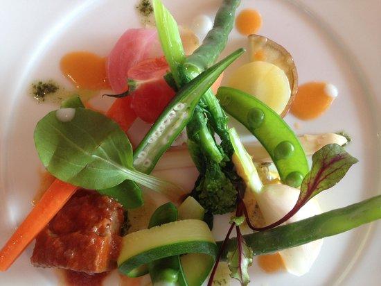 Restaurant Maccarina: Fresh garden veggie salad