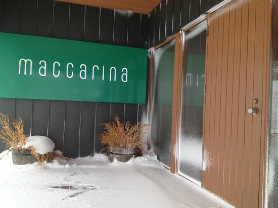 Restaurant Maccarina : Entrance
