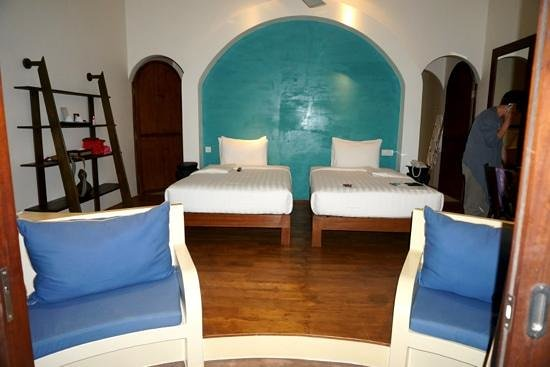 Navutu Dreams Resort & Wellness Retreat:                                     the room