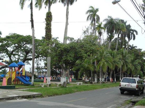 Meeres-Nationalpark Insel Bastimentos (Parque Nacional Marino Isla Bastimentos):                   Plaza Park