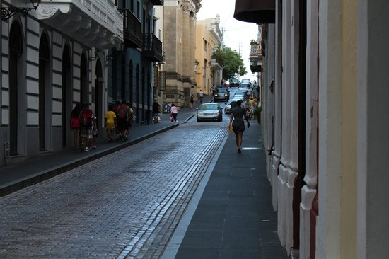 Sheraton Old San Juan Hotel: streets of old San Juan