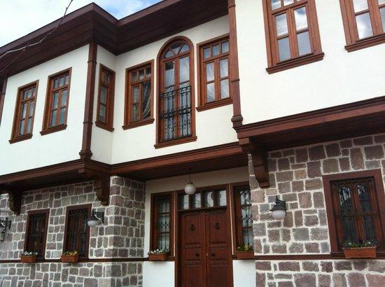 Hamamonu Restored Area :                   Ankara Hamamönü