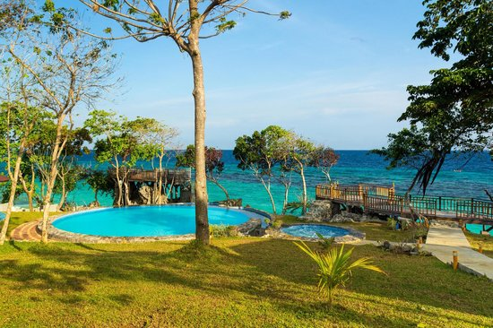 East Coast White Sand Resort & Recreation Center:                   Infinity pool