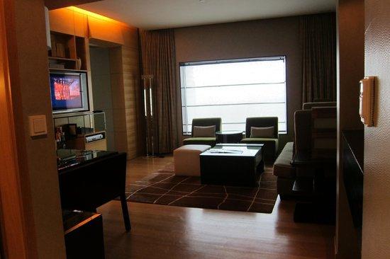 Hilton Kuala Lumpur:                   Living Room