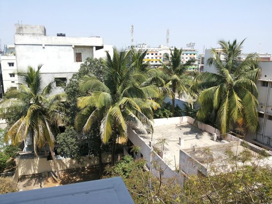 Hotel Sitara Grand Kukatpally:                   out side view from window