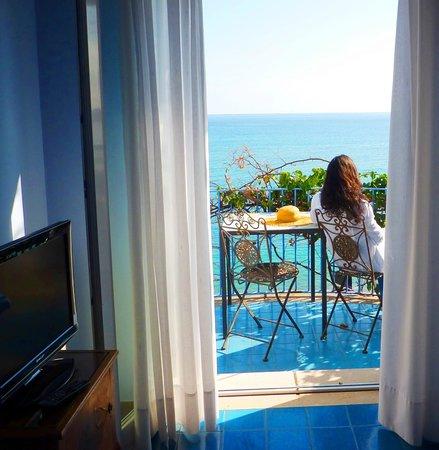 هوتل بالاديو: il balcone della camera deluxe