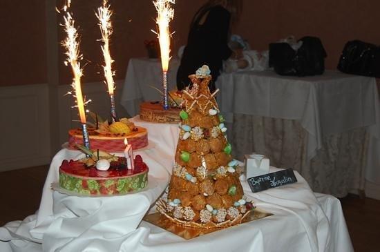 Le Chateau des Iles:                   desserts succulents