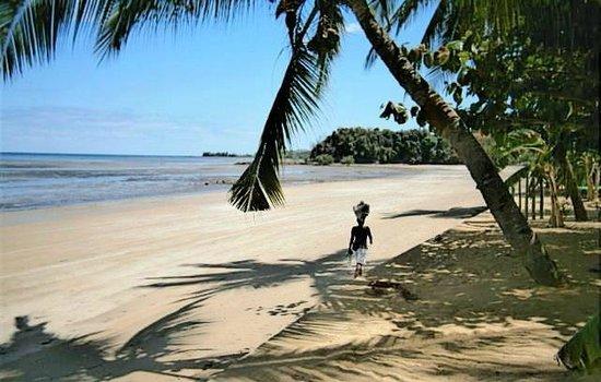 Anjiamarango Beach Resort :                   View from our bungalow