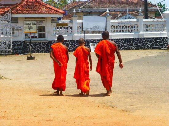 Wunderbar Beach Club Hotel: Buddhists of to worship.