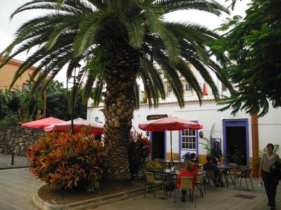 La Placita Food and Coffee:                                     La Placita from the little square