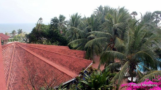 The Park Visakhapatnam :                   view from room 312