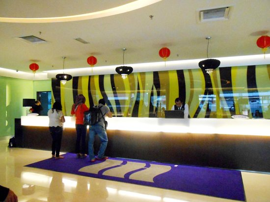 AnCasa Express @ Pudu: reception area