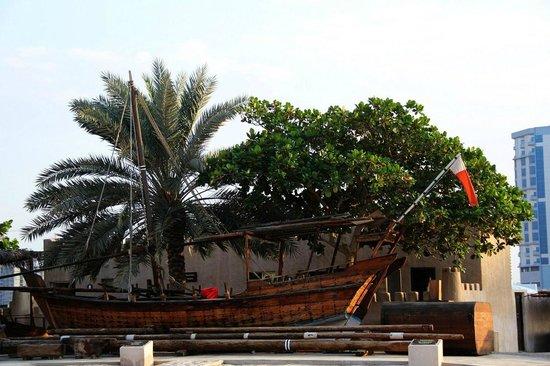 Ajman Museum:                   in yard