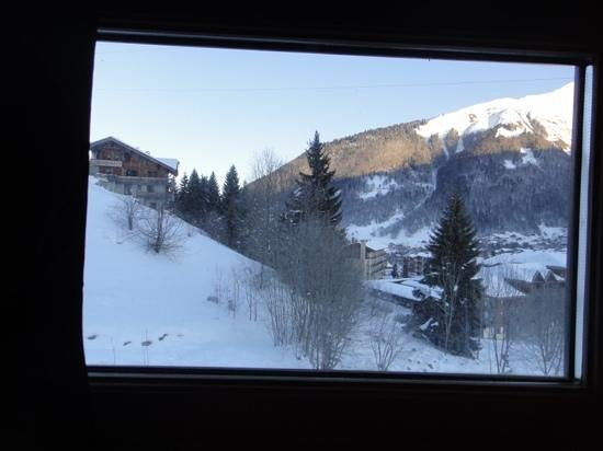 R&S - Chalet Guytaune:                   view from one of the rooms