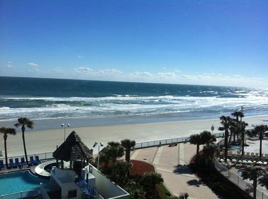 Daytona Beach Regency:                   vista da site presidencial.