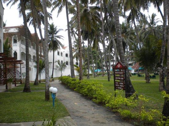 Sarova Whitesands Beach Resort & Spa:                   Hotel compound