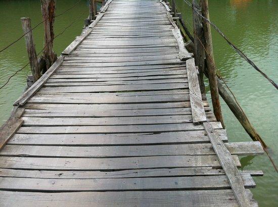 La Suisse Hotel :                   Bridge in the country in Nha Trang