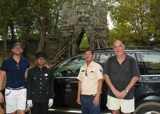 ราฟเฟิล แกรนด์ โฮเทล ดังกอร์:                   Raffles Le Grand d'Angkor - great service!