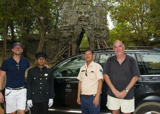 Raffles Grand Hotel d'Angkor:                   Raffles Le Grand d'Angkor - great service!