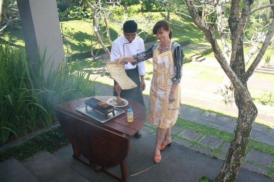 Maya Ubud Resort & Spa: Cooking School