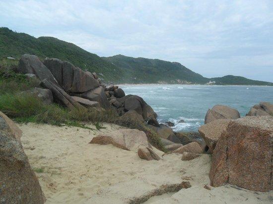 Oscar Hotel :                   Geen foto vh Hotel maar 1 vd mooie stranden van Floripa