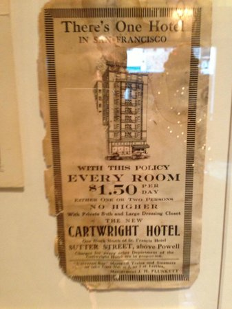 Hotel Cartwright Union Square:                   Historic place