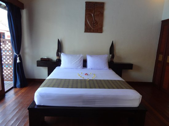 Luce d'Alma Resort & Spa: the bedroom