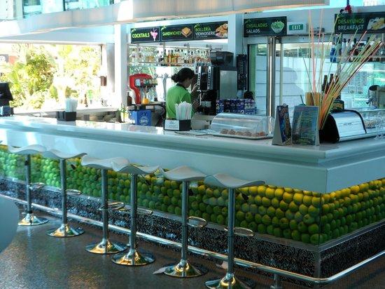 Riviera Beachotel:                   Hotel bar inside