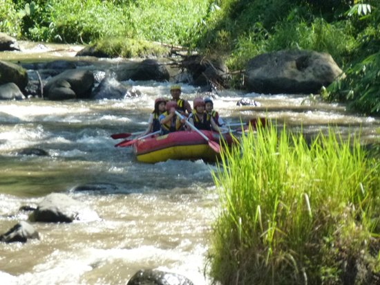 The Royal Pita Maha:                   White water rafting on Aying River