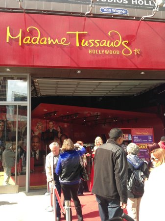 Madame Tussauds Hollywood: Front entrance - Hollywood Blvd