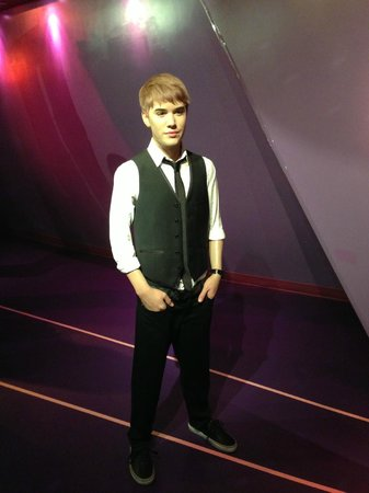 Madame Tussauds Hollywood: Justin Bieber