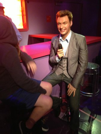 Madame Tussauds Hollywood: Ryan Seacrest
