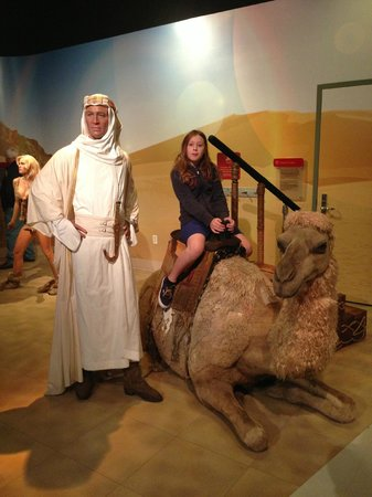 Madame Tussauds Hollywood: Lawrence of Arabia movie