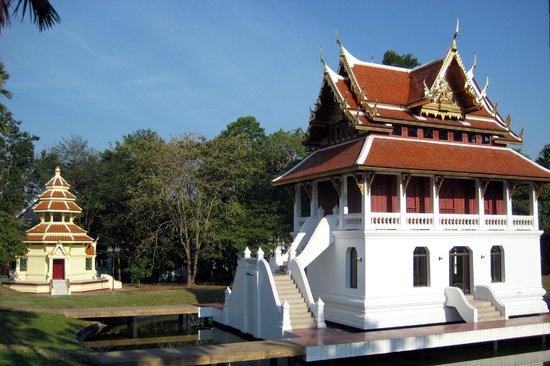 Wat Yansangwararam:                   Tempelchen.