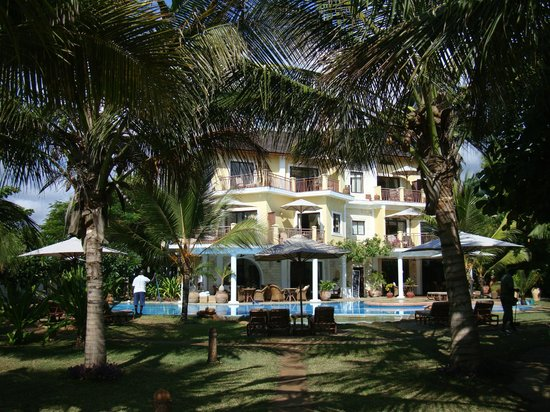 AfroChic Diani: Hotel view