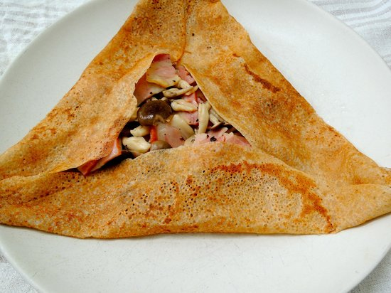 @88 La Creperie Cafe: Galettes Mushrooms Bacon