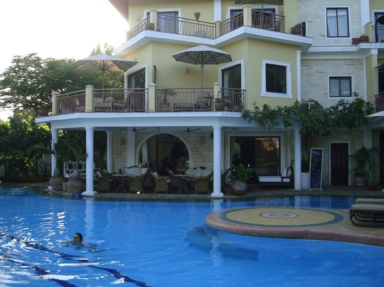 AfroChic Diani: Hotel from garden