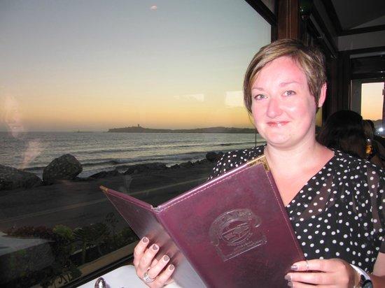 Cypress Inn on Miramar Beach: Lucky table by the window - Miramar Restaurant
