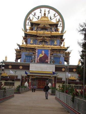 Club Mahindra Madikeri, Coorg :                   Asia'a Biggest Monk Hostel,Temple